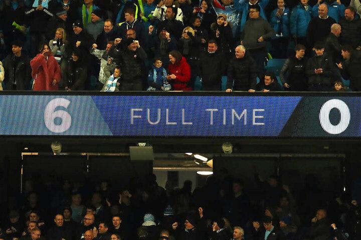 Manchester City schoss den FC Chelsea mit 6:0 aus dem Stadion!