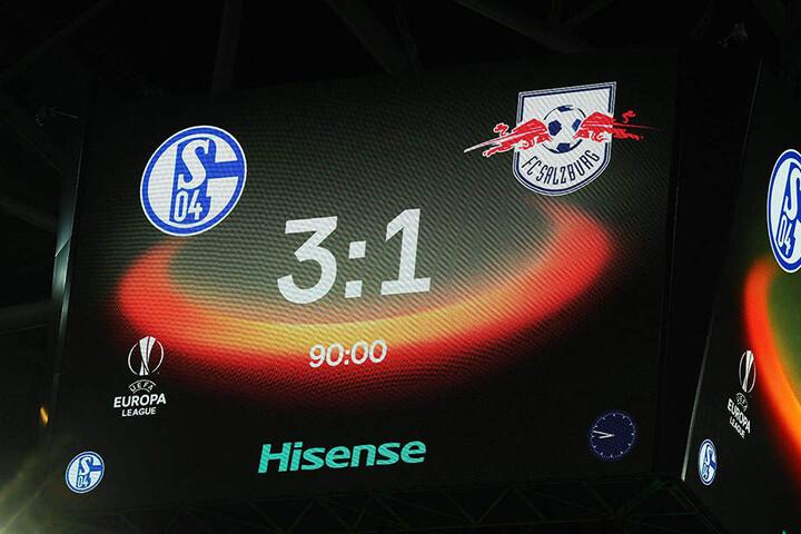 Die Partie endete mit einem 3:1 für Schalke 04.