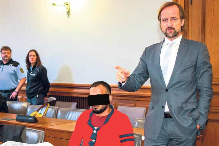 Soll früher selbst Hawala-Geldbote gewesen sein: Abboud A., ein gelernter Friseur aus Syrien.