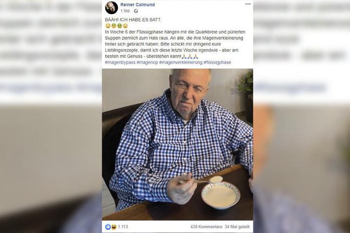 Der 71-Jährige hat seine Fans mit einem Facebook-Beitrag um Tipps gebeten.