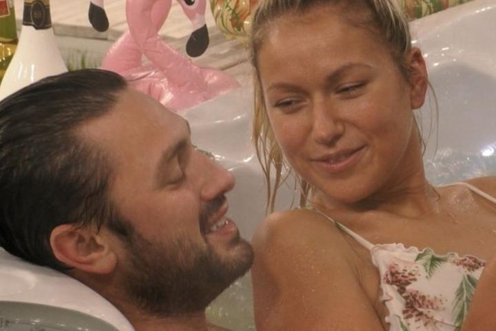 Das Paar bei Promi Big Brother (SAT.1): Die Chemie stimmte ;-)