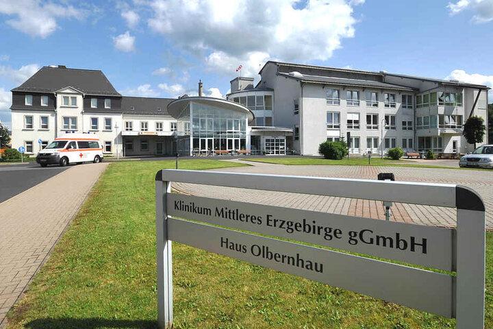 Das Klinikum in Olbernhau darf sich über eine Finanzspritze freuen.