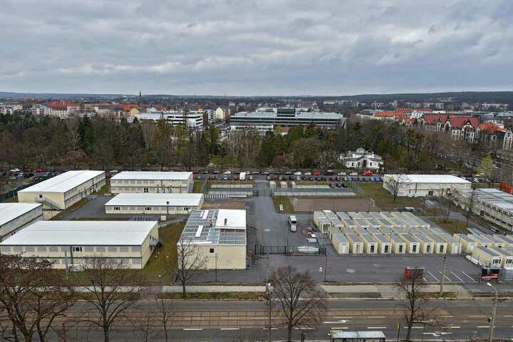 In das Containerdorf in der Dresdner Johannstadt zog nie ein Asylbewerber ein.