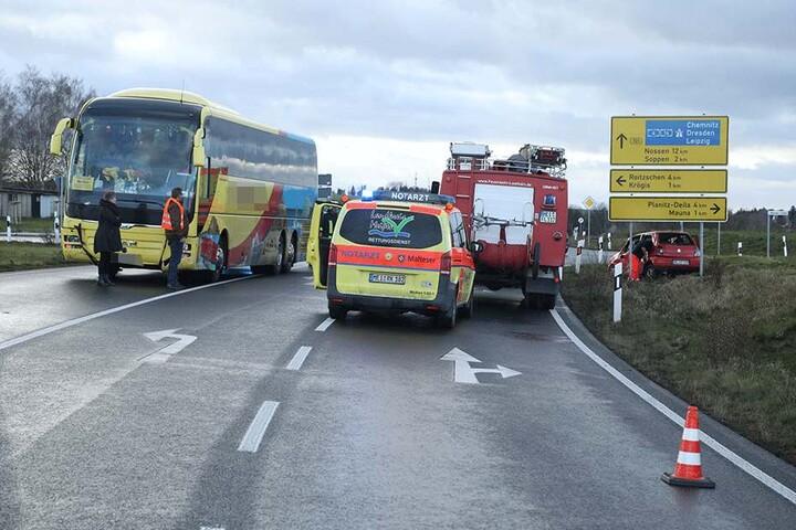 Auch die Feuerwehr war vor Ort im Einsatz.