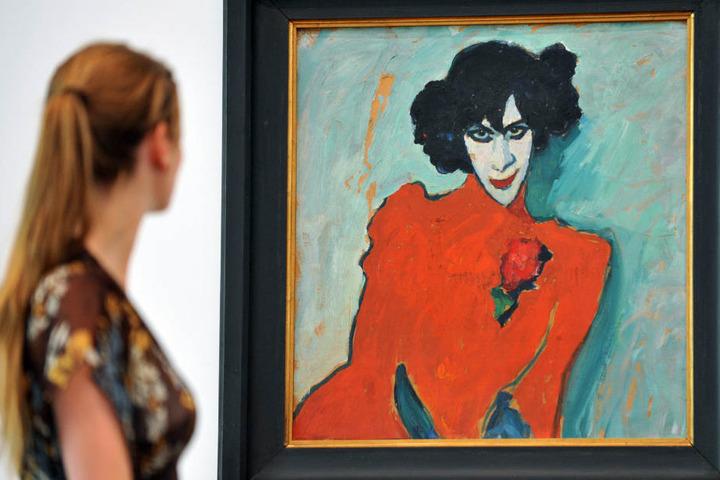 Viele Kunstwerke der berühmten Sammlung sind bereits im Internet zu finden. (Archivbild)