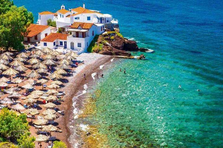 Sommer, Sonne, Strand und Meer: Die griechischen Inseln gehören zu den Top-Reisezielen der Chemnitzer.