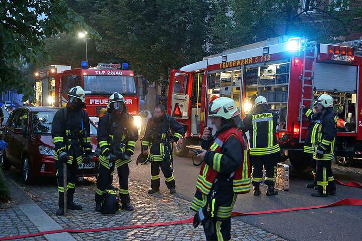 Insgesamt waren 36 Kameraden von drei Feuerwehren im Einsatz.
