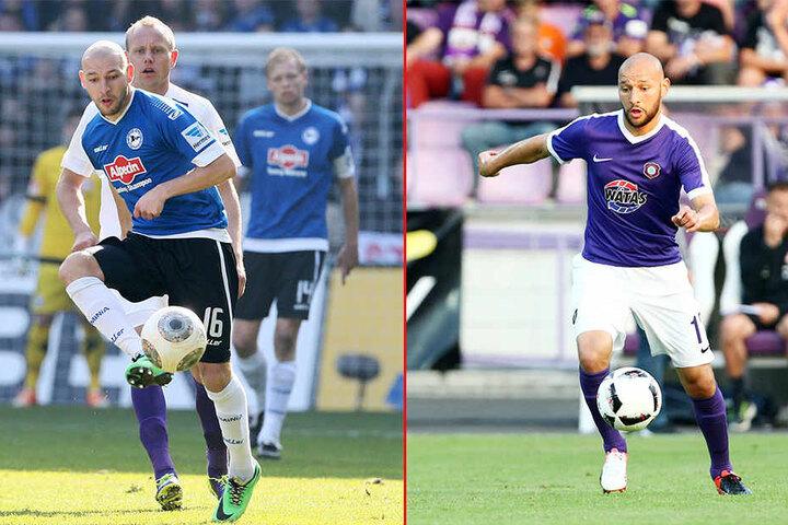 Gegen den alten Verein: Philipp Riese spielte für zwei Jahre beim DSC , ehe er über Heidenheim bei Erzegbirge Aue gelandet ist.