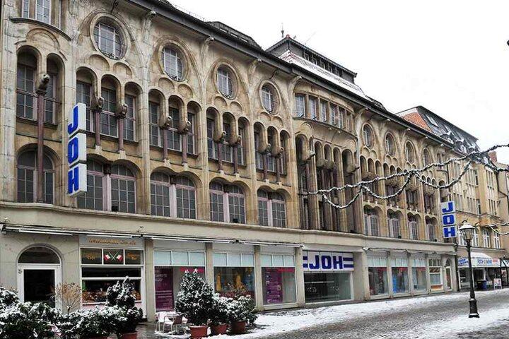 Das Kaufhaus Joh in der Hauptstraße von Zwickau machte 2013 dicht. Es bot seinen Kunden stolze 5000 Shopping-Quadratmeter.