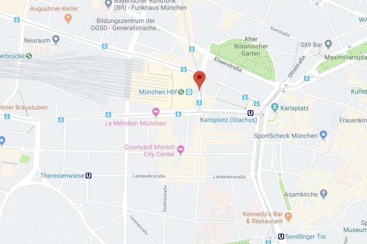 In München ist es am Montag am Bahnhofsplatz zu einem folgenschweren Verkehrsunfall gekommen.