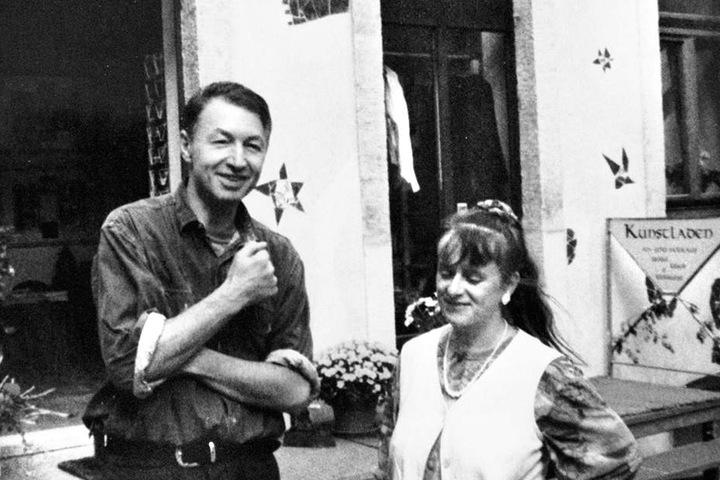 1998 eröffnete Andreas mit seiner Frau Andrea den ersten Laden in der Kunsthofpassage.