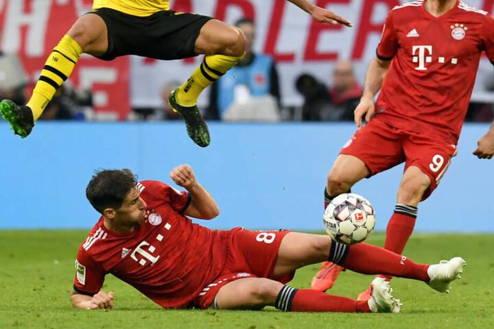 Javi Martinez zeigte beim FC Bayern München viel Einsatz - wenn er spielen durfte. Nun könnte ein Wechsel ins Haus stehen. (Archiv)