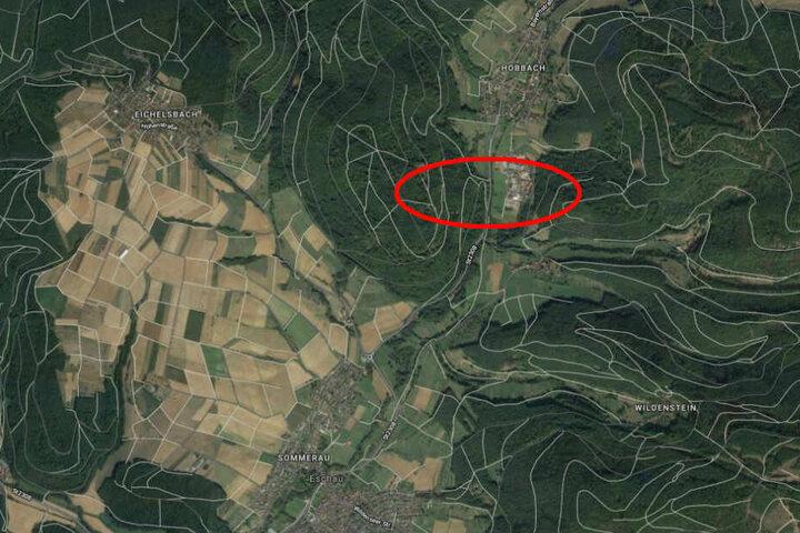Der Unfall passierte auf der Straße zwischen Hobbach und Eschau auf der Höhe des Schauer Ortsteils Unteraulenbach.