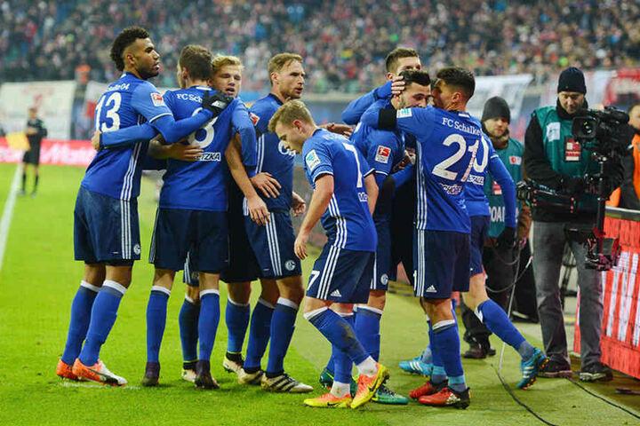 Zwischenzeitlicher Jubel bei Schalke 04: Der Ausgleich zum 1:1.