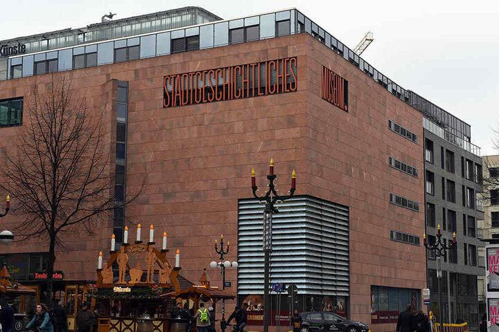 Das Stadtgeschichtliche Museum zu Leipzig - ein ehemaliger Mitarbeiter steht  im Verdacht, die Münzen gestohlen zu haben.