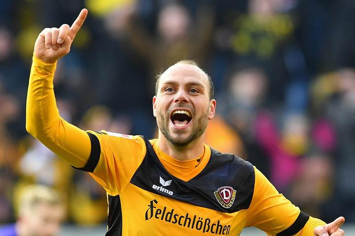 Auch für Rico Benatelli geht es nicht in Dresden weiter. Er heuert beim FC St. Pauli an.