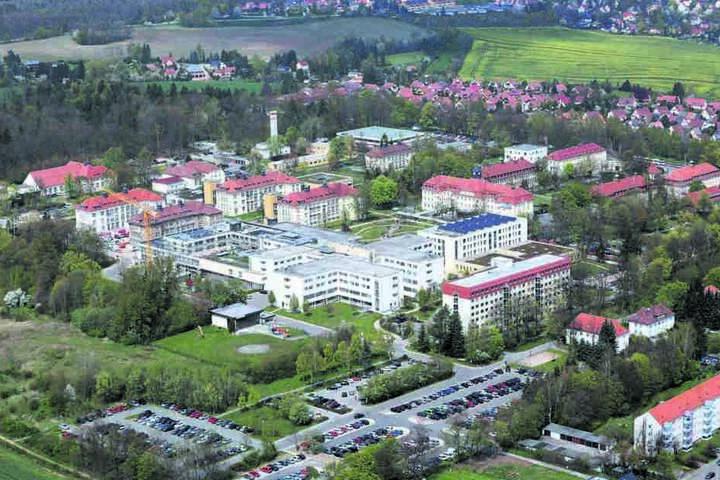 Das HBK ist einer der größten Arbeitgeber im Zwickauer Land.