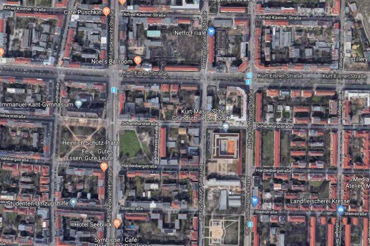 Der Vorfall ereignete sich an der Scharnhorststraße im Leipziger Süden.