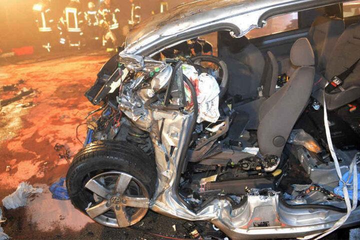 In diesem VW starb der 44-jährige Pforzheimer.