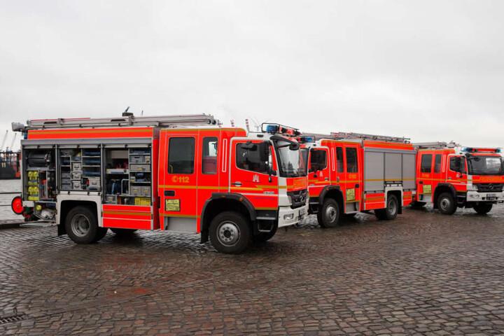 Die Übung der Feuerwehr Hamburg wird von ausländischen Beobachtern aufmerksam verfolgt (Symbolbild).