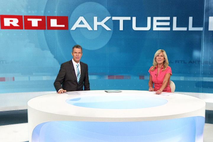 """Meist sind Peter Kloeppel und Ulrike von de Groeben bei """"RTL Aktuell"""" das Moderatoren-Duo."""
