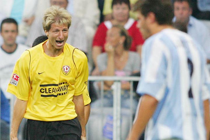 Für den ersten Dynamo-Sieg in der Arena sorgte Marco Vorbeck am 9. September 2005 mit zwei Toren.