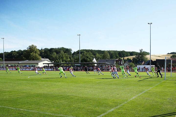 Tolle Geste: Die Zwickauer dürfen das Sportzentrum Stangendorf in der Vorbereitung nutzen.