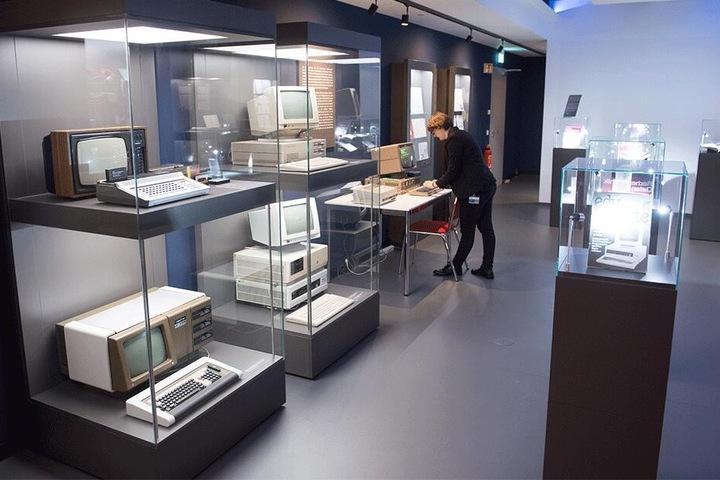 Robotron war DER Computer-Produzent im Ostblock. Hier ein Blick ins frisch eröffnete Robotron-Museum.