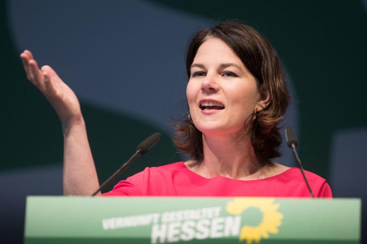 Annalena Baerbock, die Co-Bundesvorsitzende von Bündnis 90/Die Grünen.