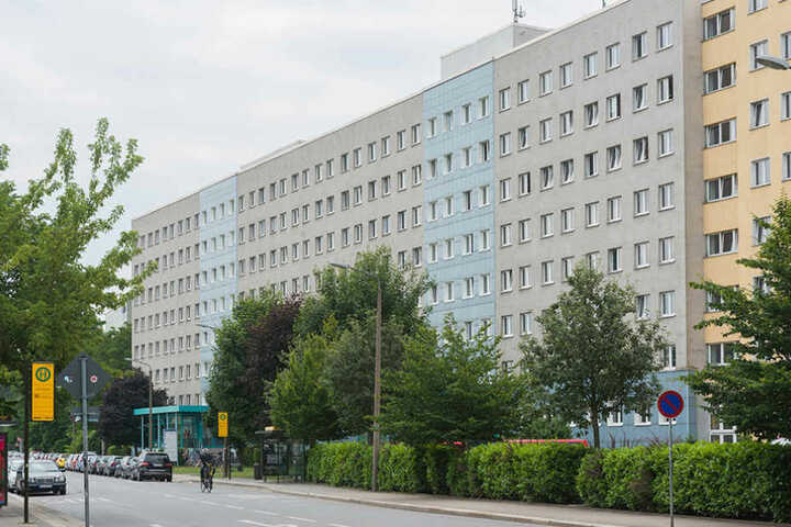 """Das Bürogebäude an der Strehlener Straße war das """"Lieblingshaus"""" von Maik N."""