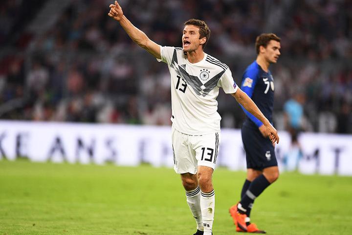 Zeigte eine starke Leistung: Thomas Müller.