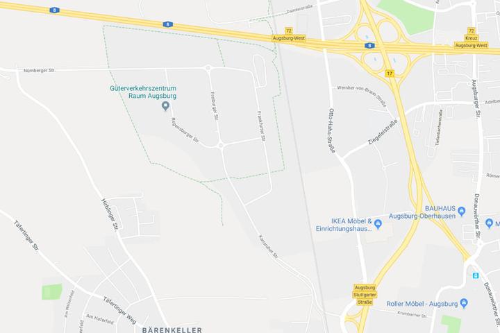 In Gersthofen im Landkreis Augsburg ist es in einem Möbelhaus zu einem Zwischenfall gekommen.