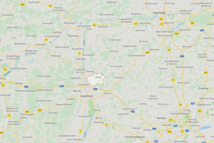 Affing ist eine kleine Gemeinde in der Nähe von Augsburg in Bayern.