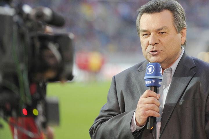 Waldemar Hartmann kommentiert das DFB-Pokal-Halbfinale zwischen Bayer Leverkusen und dem FSV Mainz 05 (2009).