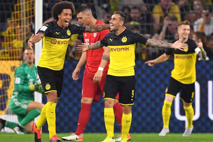 Paco Alcácer konnte mit einem feinen Direktschuss aus gut 16 Metern Manuel Neuer überwinden.