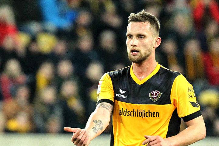 Manuel Konrad muss bei Dynamo wieder auf der Ersatzbank Platz nehmen. Darauf hat Konrad nur wenig Lust. Wie lange bleibt er bei Schwarz-Gelb?