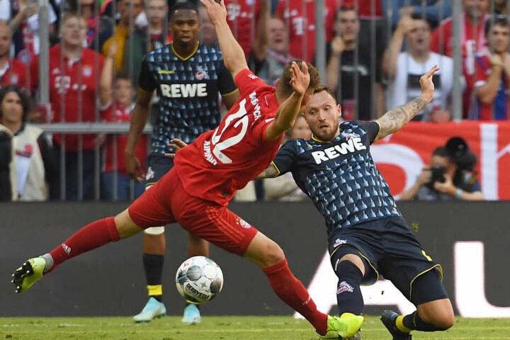 Marco Höger (30) ersetzte in München den verletzten Birger Verstraete.