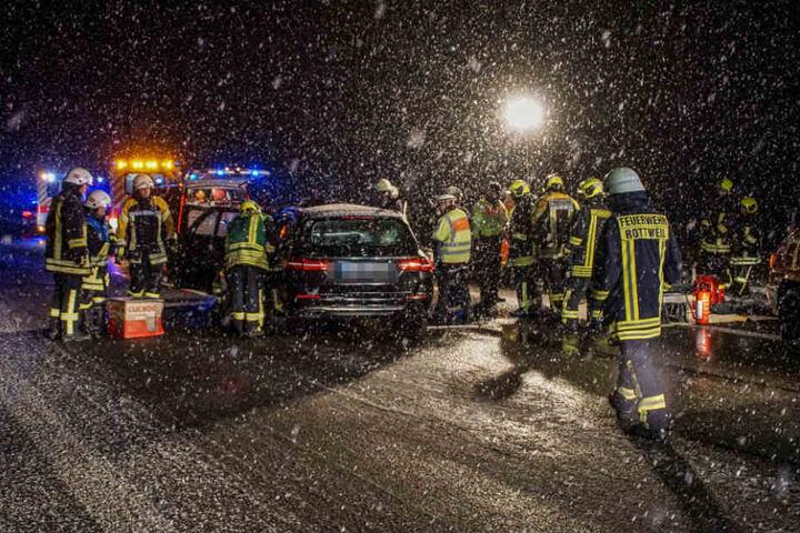 Der 23 Jahre alte Beifahrer starb bei dem Unfall.