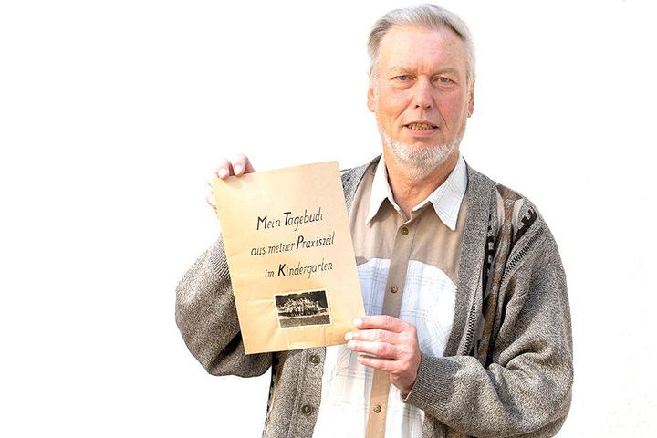 Wolfgang Wick hatte das Tagebuch gefunden, wollte jetzt ein paar der einstigen Knirpse versammeln. Hätte auch beinahe geklappt.