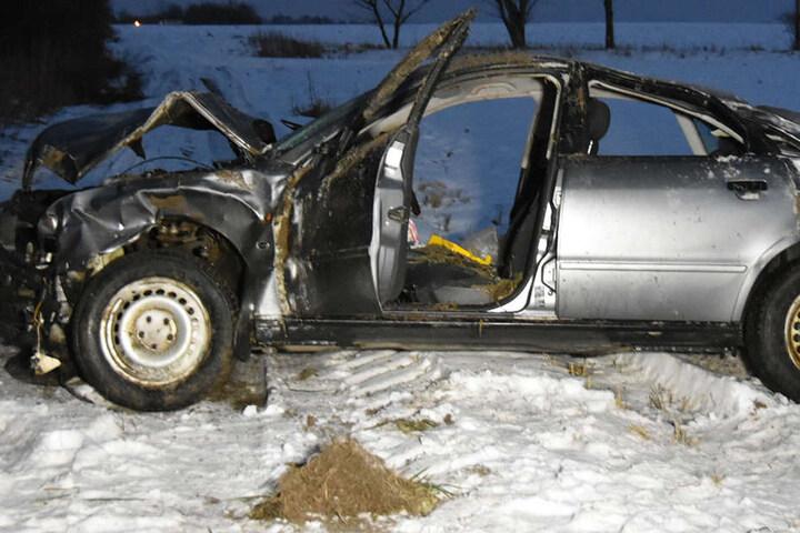 Am Unfallfahrzeug enstand Totalschaden.