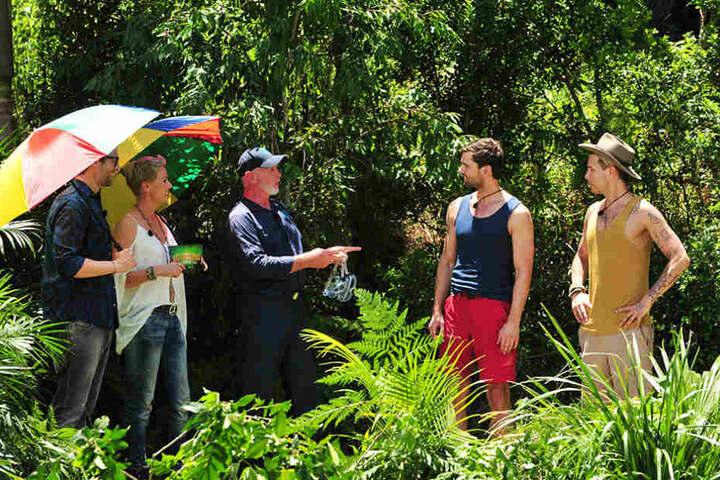 Ab in die Dschungelprüfung: Dr. Bob erklärt noch einmal die Bedingungen.