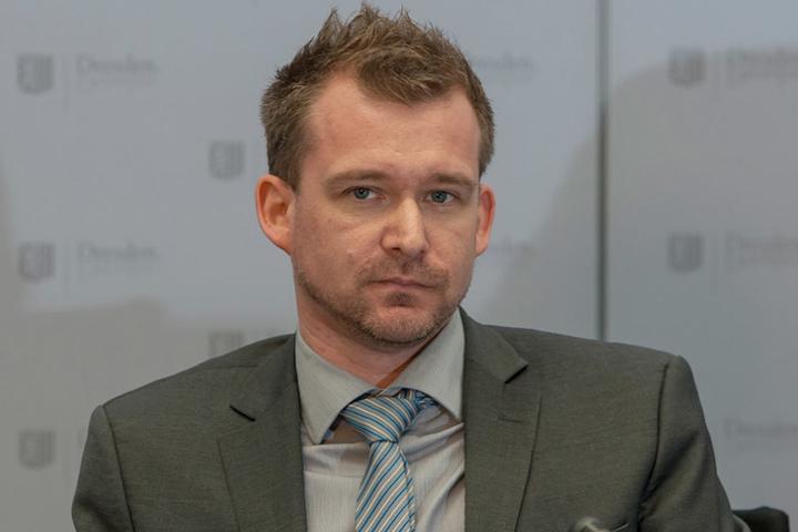 """Raoul Schmidt-Lamontain (Grüne) gesteht: """" Das Geld reicht einfach nicht."""""""
