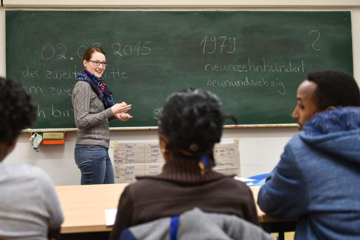 Mit Sprachkursen soll die Integration der Flüchtlinge schneller vorangebracht werden.