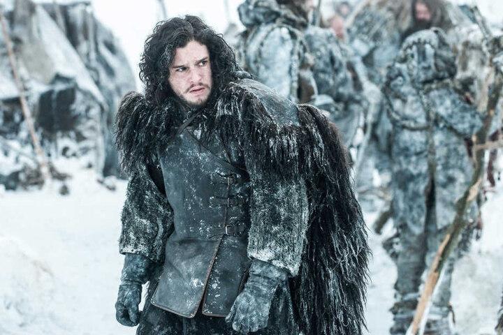 Kit Harington als Jon Snow während einer Szene.