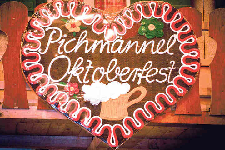 Tradition ist Kult: Lebkuchenherzen  gehören zum Oktoberfest dazu.