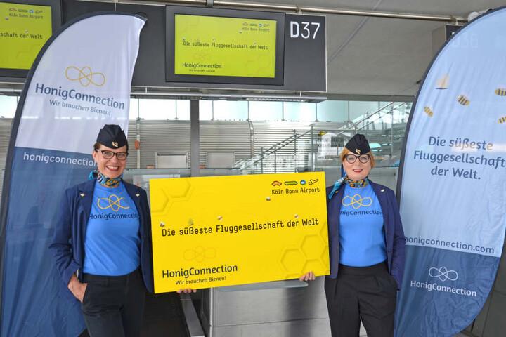 """Der Köln Bonn Airport begrüßt eine neue """"Airline""""."""