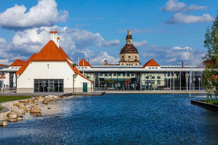 Hier steigt die Show: die Messe Dresden.