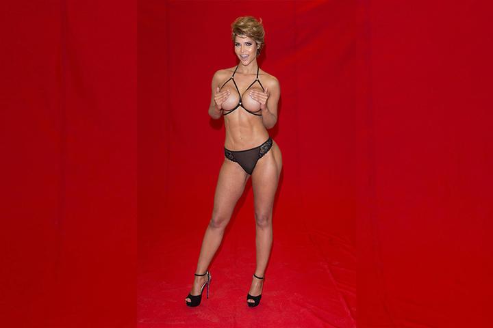 Extra fürs Venus-Fotoshooting legte sich Micaela Schäfer eine neue Frisur zu.