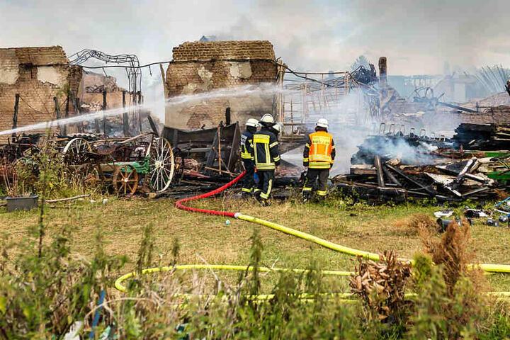 Der Ebentaler Hof brannte in Teilen bis auf die Grundmauern nieder.