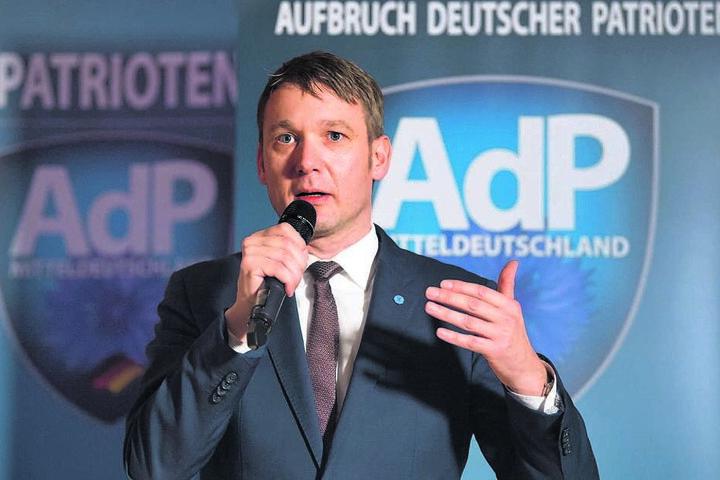 Ex-AfDler André Poggenburg (43) hat mittlerweile seine eigene Rechtspartei.